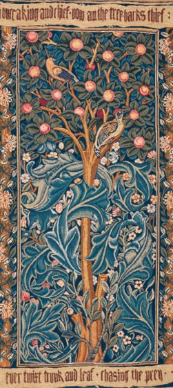 77547 William Morris 100x50 cm en 154x75 cm